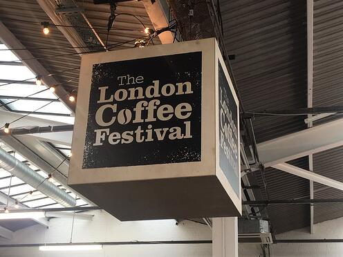 London Coffee Festival Banner